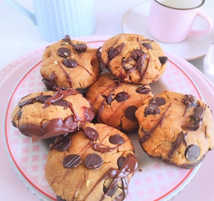 COOKIES CON CHOCOLATE SIN HORNO